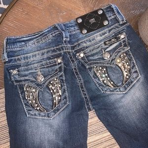 Miss Me - Girl's 12 Boot Cut Jeans